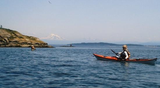 San Juans paddling