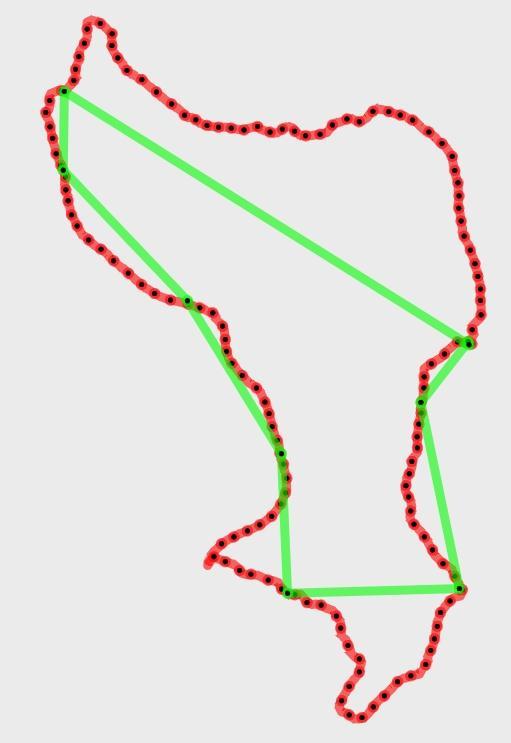 Spot track points