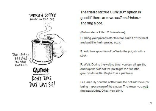 Turkish Cowboy Coffee#2