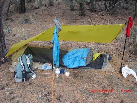 Golite Poncho Tarp Mailbox Canyon