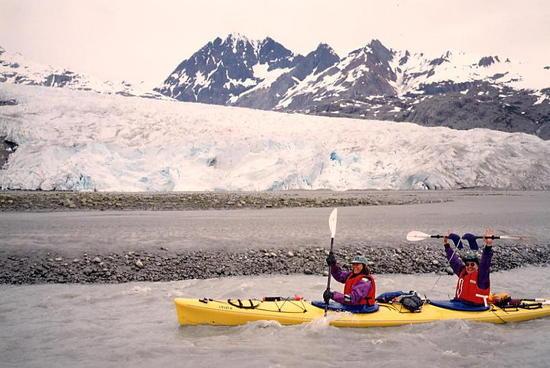 Riggs Glacier, Glacier Bay Alaska