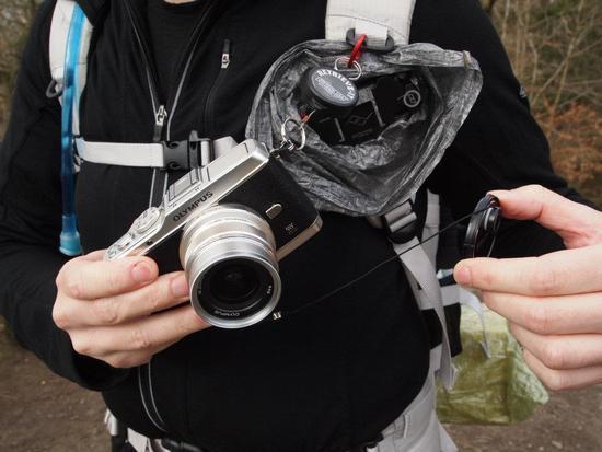 Cuben Fibre camera cover.