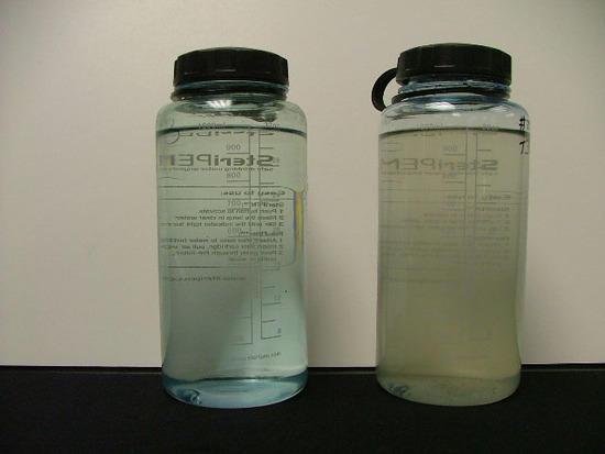 Steripen test waters