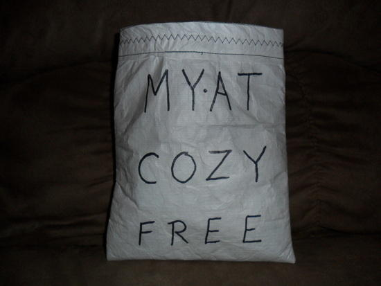 Tyvek and Fleece Cozy