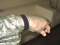 Parcho velcro hand straps