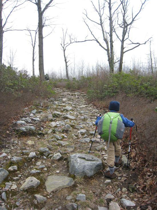 Rocky path...