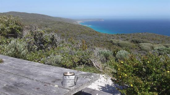 View near West Cape Howe