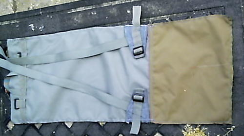 Nomad Ruck back/bottom cut out