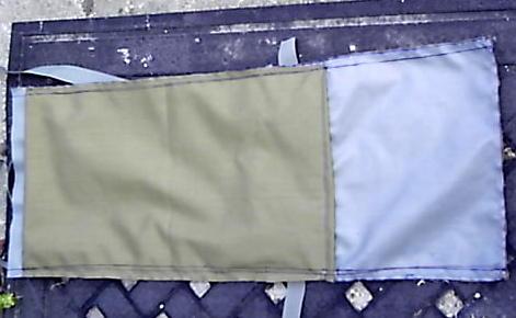 Nomad RucK back /bottom back pad pocket