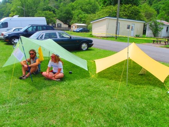 Trailstar Shelters -- must be fraternal twins