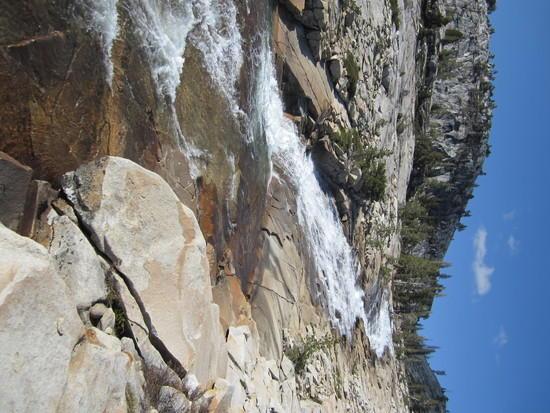 More Heavey water flow