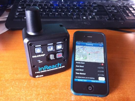 inReach for iOS