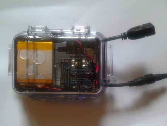 bottom up battery pack