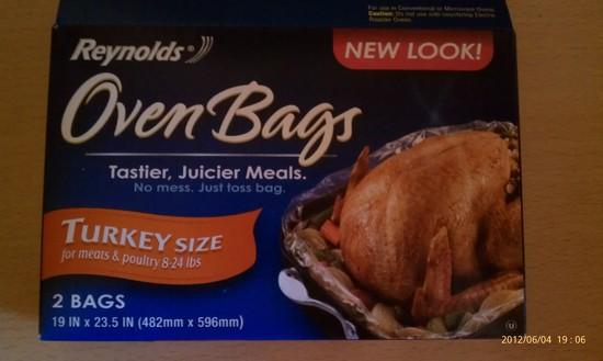 Turkey Oven Bag