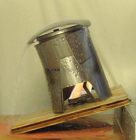 wedge cone stove