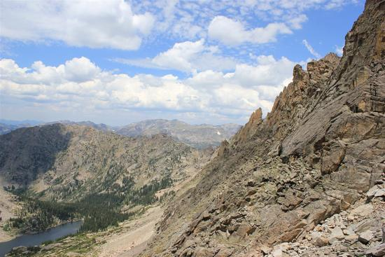 View From Pawnee Pass