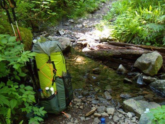 pack front creek
