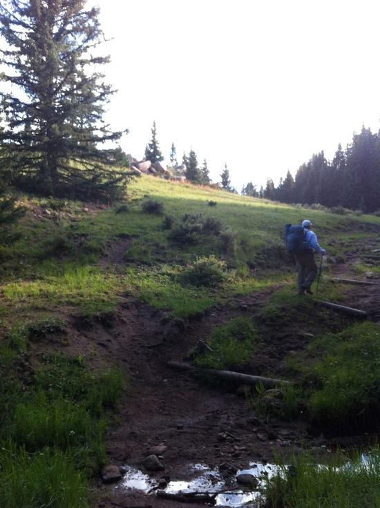 Hiking up 51