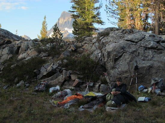 Camp near Island Pass
