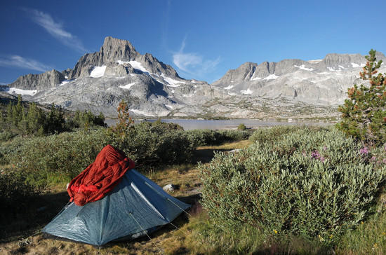 Betsy's ZPacks Hexamid Solo-Plus Tent at Thousand Lakes