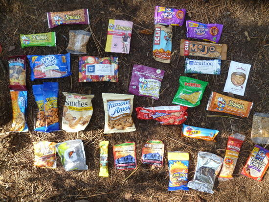 Philmont Some of the Trail Snacks