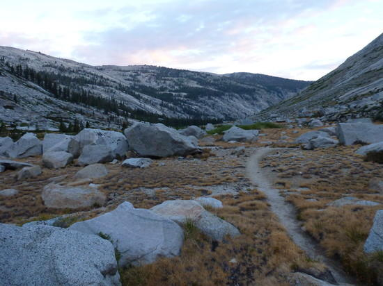 Deadman Canyon in early morning light