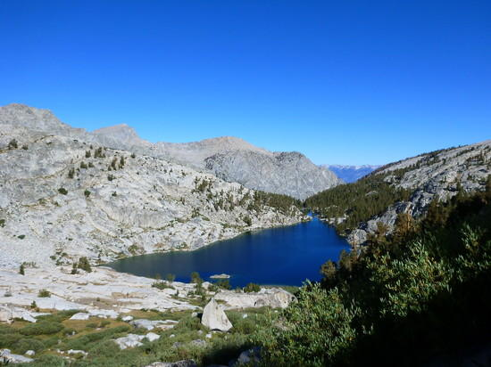 Colby Lake from near Colby Pass