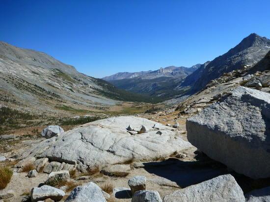 Looking back at Upper Big Arroyo Canyon