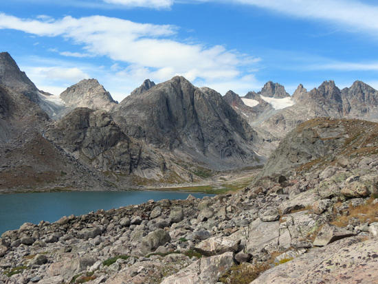 Titcomb from Mistake Lake