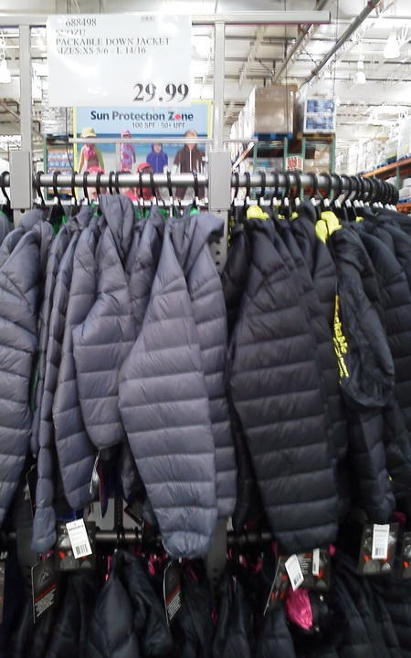 Costco Stuffable Down Jacket