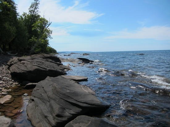 Campsite on Lake Superior