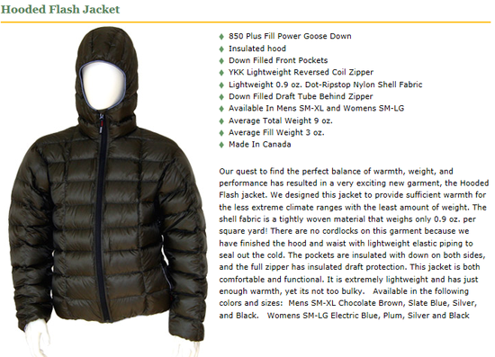 Hooded Flash Jacket