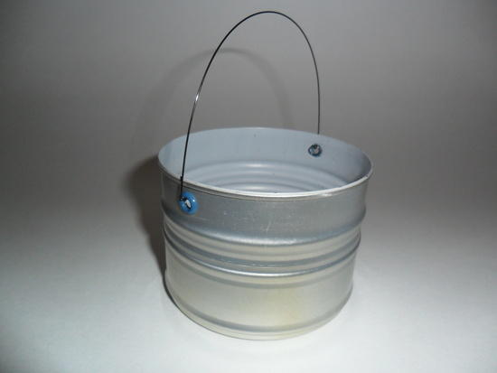 1 cup cook pot with eyelets and bail
