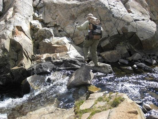Crossing of Twin Island Lake outlet