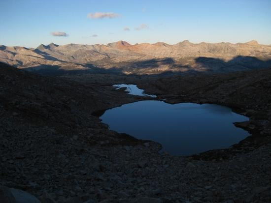 View from Blue Lakes Pass