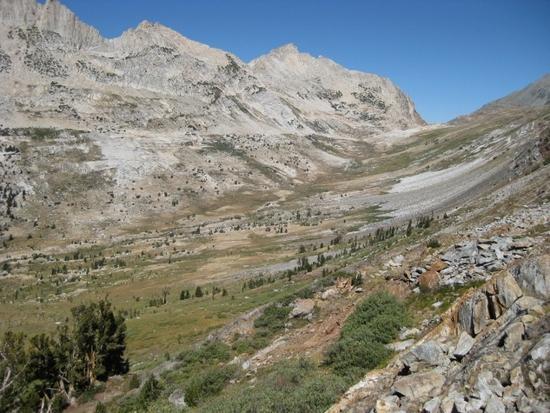 Spiller Creek with Horse Creek Pass