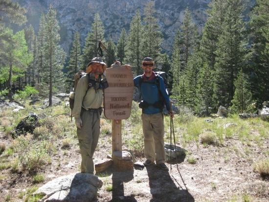 Manfred & Andrew finish the complete Sierra High Route after exactly 12 days