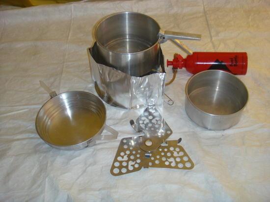 Sigg and stove