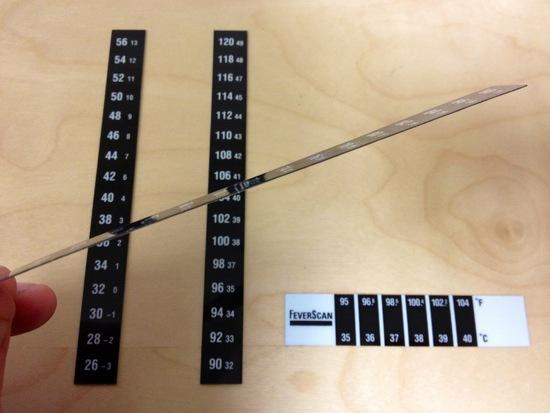 Temp Indicators - Thickness