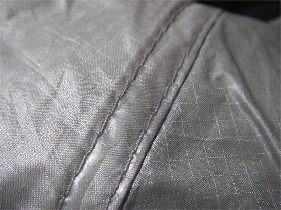sealed seam