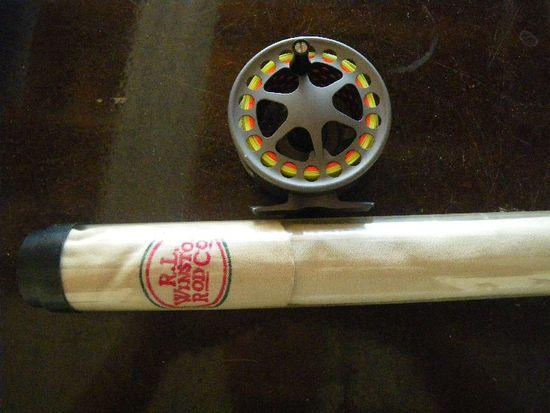 reel and rod case