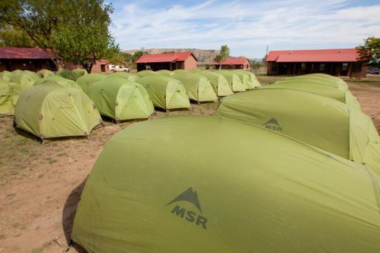 Philmont MSR tents
