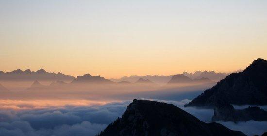 3 Looking east from Col de Pavis