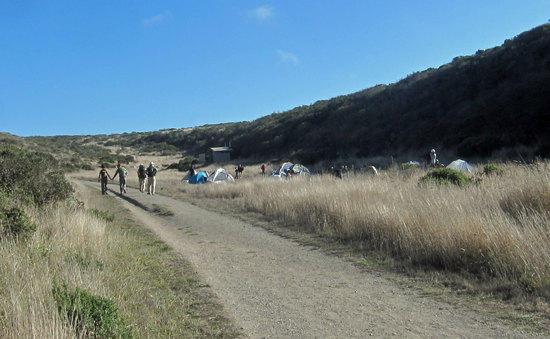 Entering into Coast Camp