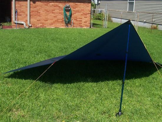 MYOG Polymax 42 flat spinnaker tarp