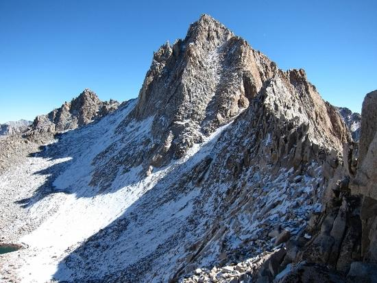 mt haeckel and the sierra crest