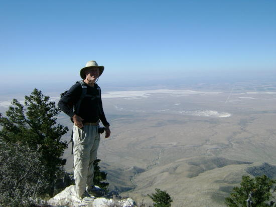 on the escarpment