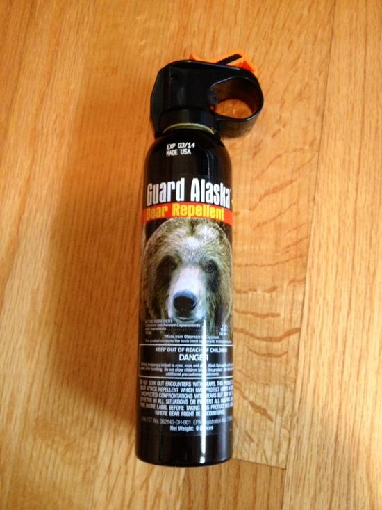 Gaurd Alaska Bear Repellant