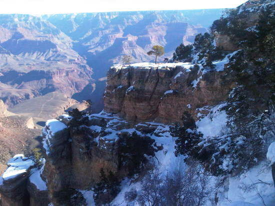 hermit trail winter