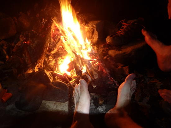 feet by fire